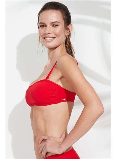 U.S. Polo Assn. Bikini Üst Kırmızı